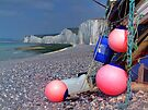 Fishing Floats - Birling Gap - East Sussex by Colin  Williams Photography