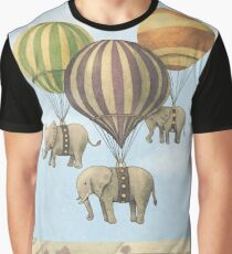 Flight of The Elephants (Option) Graphic T-Shirt