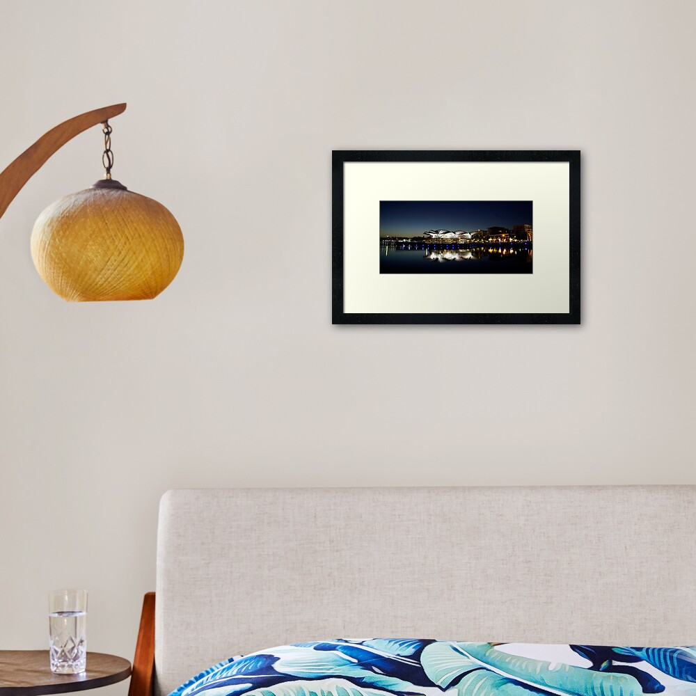 A Great Start To The Day Framed Art Print