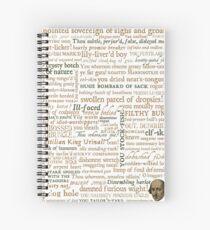Shakespeares Insults Collection - überarbeitete Auflage (von incognita) Spiralblock