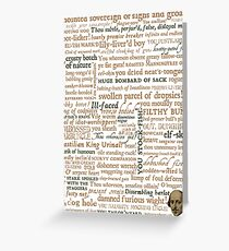 Shakespeare's Insults Collection - Revised Edition (by incognita) Greeting Card