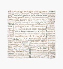 Pañuelo Colección de insultos de Shakespeare - Edición revisada (por incognita)