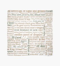 Shakespeare's Insults Collection - Revised Edition (by incognita) Scarf