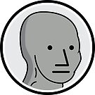 NPC Meme Sticker by unluckydevil