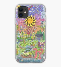 PSYCHEDELIC SUNSET iPhone Case