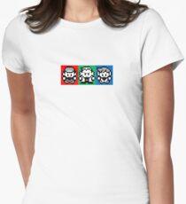 Pokemon Beginnings - Ash, Oak, Gary Red Blue Yellow T-Shirt