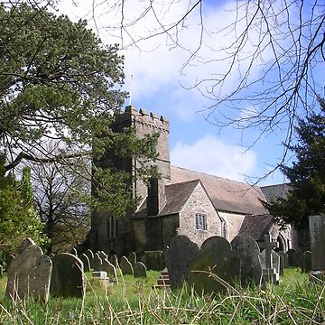 St. Petroc's Church And Graveyard by lezvee