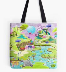 THE WILD JAPAN - CONCEPT ART Tote Bag