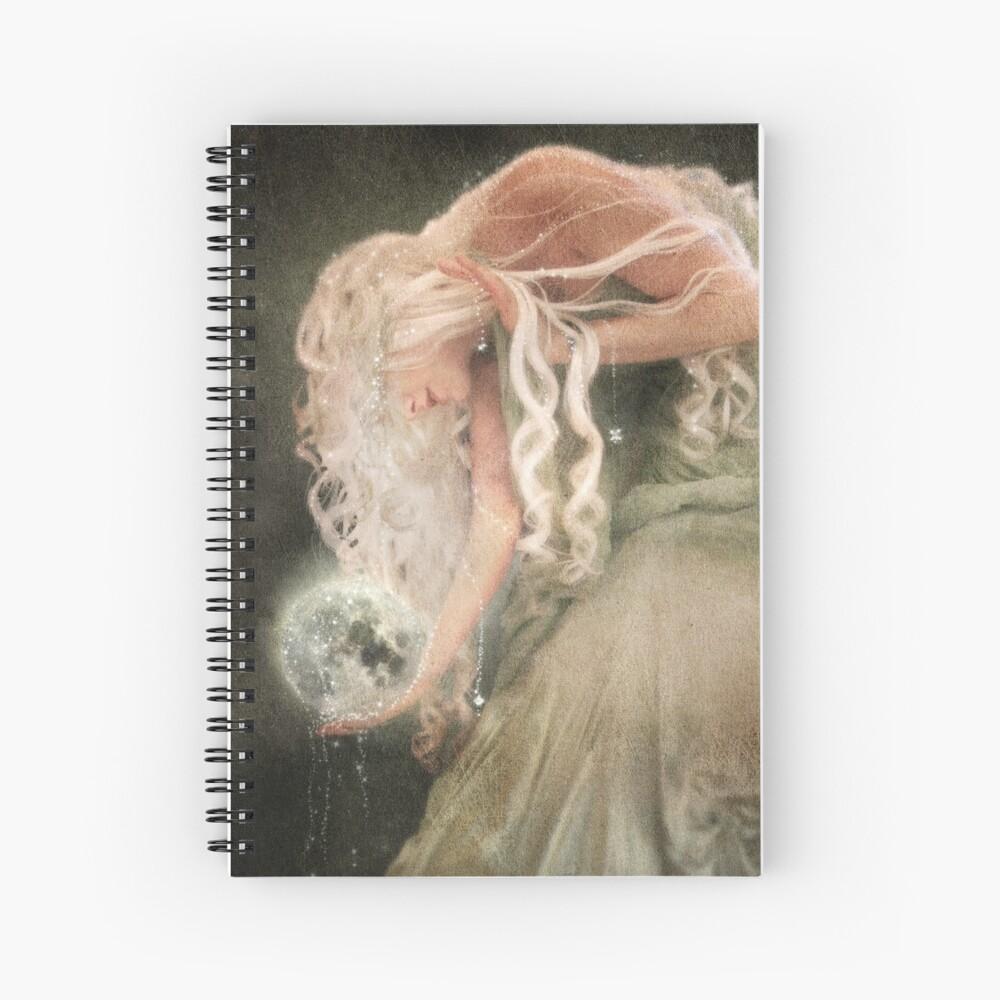Sister Moon Spiral Notebook