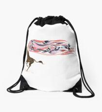 Keeper of Skies I Drawstring Bag