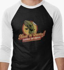 RUPTURE FARMS: NEW N TASTY! Men's Baseball ¾ T-Shirt