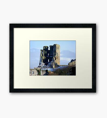 THE CASTLE Framed Print
