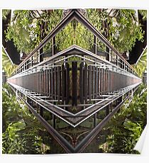 Funicular Reflections Poster