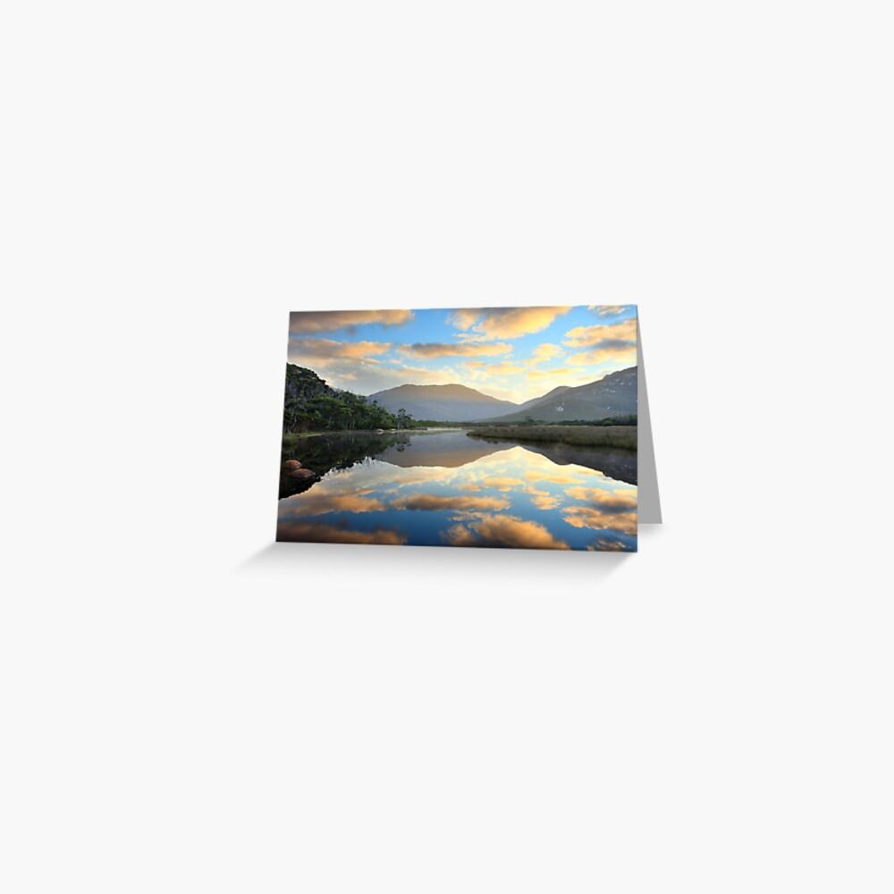 Tidal River Awakens, Wilsons Promontory, Victoria, Australia Greeting Card