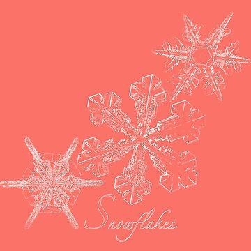 Three Snowflakes by AmandaMLucas