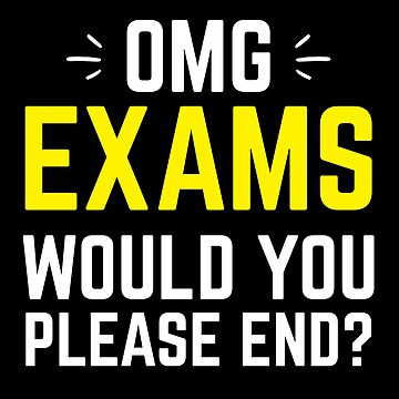 OMG Exams will you please END?  by jazzydevil