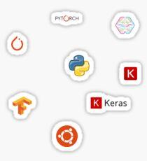Deep Learning Stickers Sticker