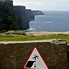 Don't Fall - Cliffs of Moher by emerson