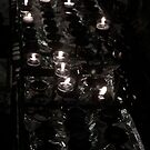 Cathedral Candles - Galway  by emerson
