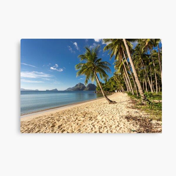 Beach, Elnido, Palawan, Philippines Canvas Print
