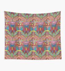 Tribal Fertility Mask Wall Tapestry