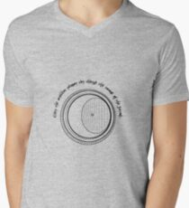 bag's end door Men's V-Neck T-Shirt