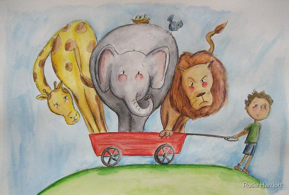 A Wagon Full Of Fun by Rosie Harriott