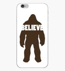 Bigfoot Believe iPhone Case