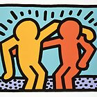 keith haring two by briochina