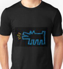 keith haring dog Unisex T-Shirt
