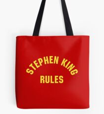 Stephen King Rules Tote Bag