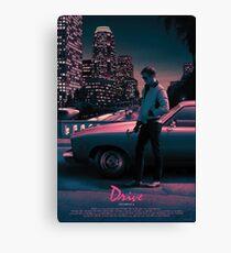Drive movie poster Canvas Print