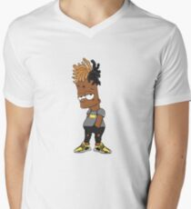 a0923992600 xxxtentacion Cartoon Men s V-Neck T-Shirt