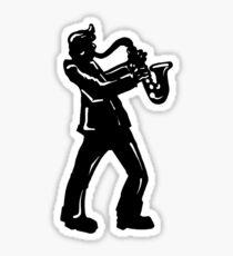 New York Boogie Nights Saxophone Sticker