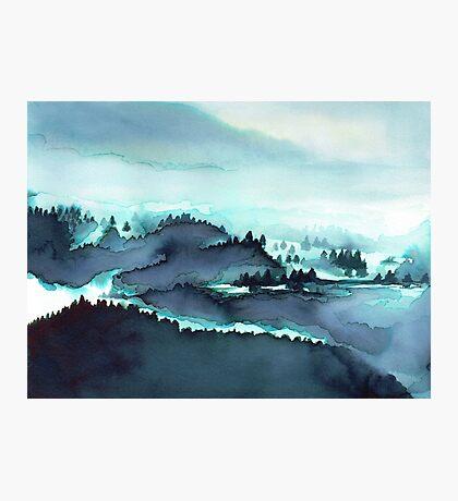 Montagnes Françaises Impression photo