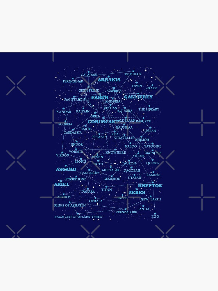 Sci-fi Star map von silentrebel