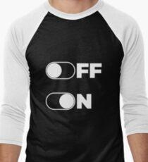 Mood - OFF or ON Men's Baseball ¾ T-Shirt