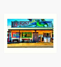 Long Flat - NSW - AUSTRALIA Art Print