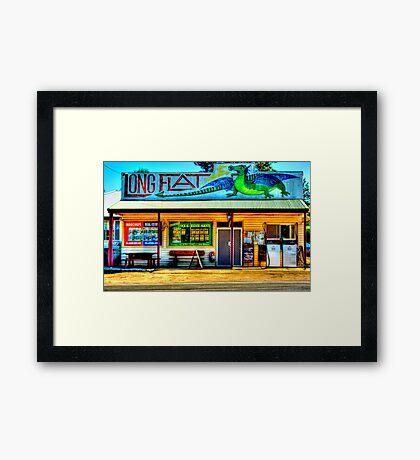 Long Flat - NSW - AUSTRALIA Framed Print