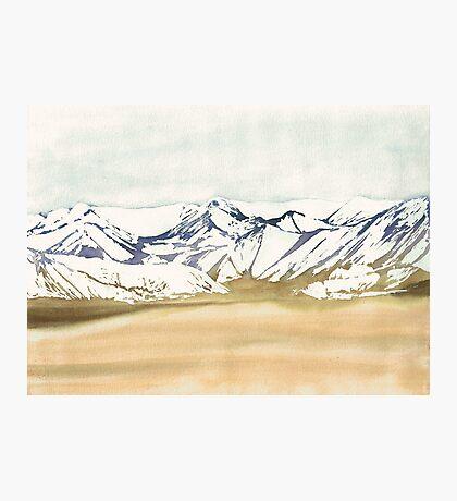 Montagnes Désert Impression photo