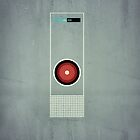 2001 - Hal 9000 by jackfords