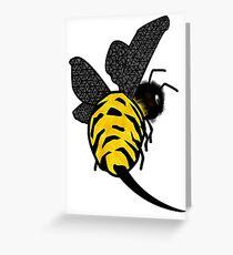 Mr Sting Greeting Card
