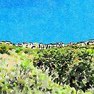 View of Santa Maria Talao by Giuseppe Cocco