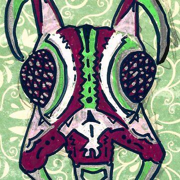Alien Ant Head by Kyleacharisse
