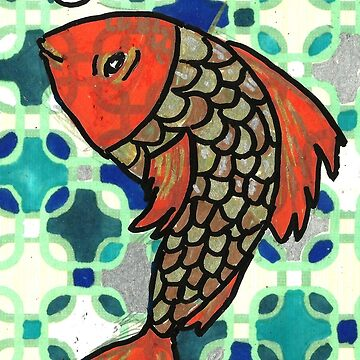 Patterned Fish by Kyleacharisse