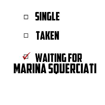 Waiting For Marina Squerciati by NessaElanesse
