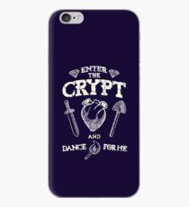Enter the crypt. iPhone Case