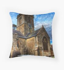 Symondsbury Church Throw Pillow
