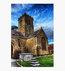 Symondsbury Church Photographic Print
