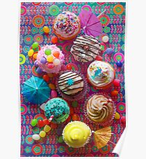 Cupcake du Jour Poster